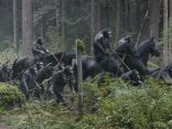 "Andy Serkis (who portrays Caesar) says there was an ""ensemble cast"" of other actors portraying primates in the film, all using motion-capture performances in outside locations such as New Orleans and the woods of Vancouver. In this story the apes have a major advantage: They don't need the creature comforts the humans require."