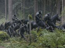 """Andy Serkis (who portrays Caesar) says there was an """"ensemble cast"""" of other actors portraying primates in the film, all using motion-capture performances in outside locations such as New Orleans and the woods of Vancouver. In this story the apes have a major advantage: They don't need the creature comforts the humans require."""